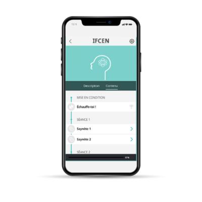 Capture écran app IFCEN