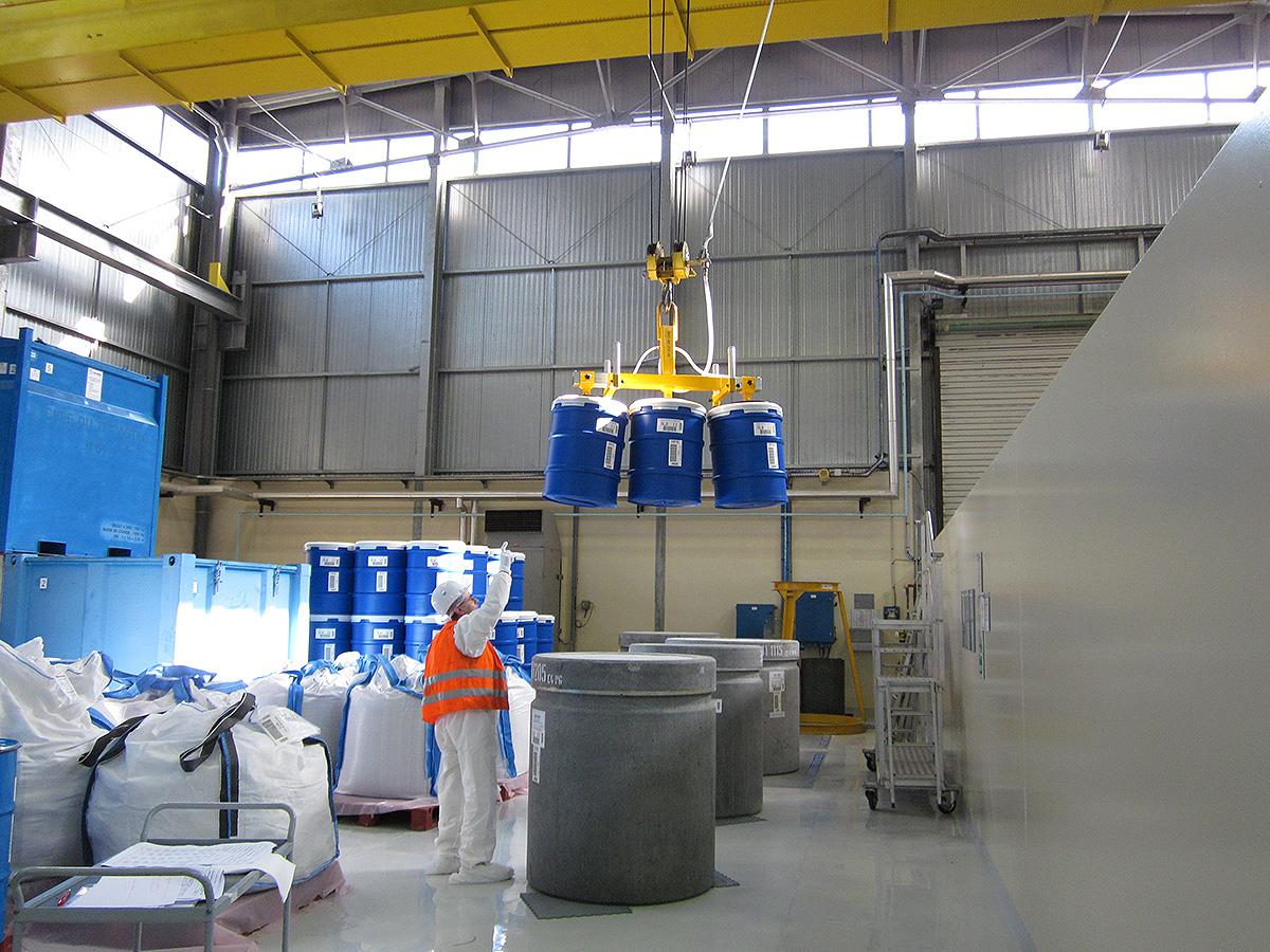 Logistique Nucléaire. Credits : COPSAR